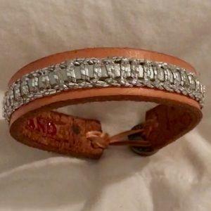 Lucky Brand Leather bracelet nwot